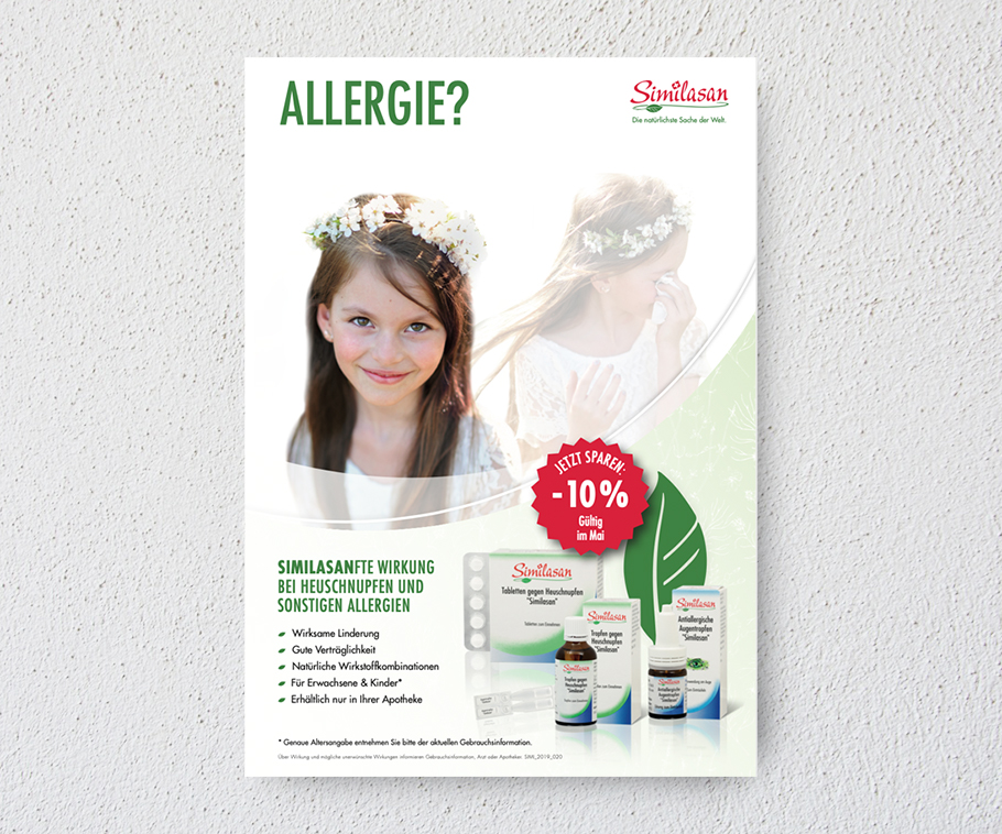 Sililisan Poster Allergie