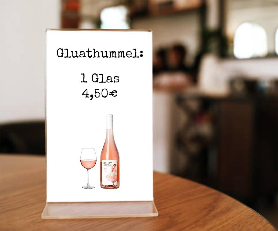 Gluathummel_Aufsteller_Restaurant